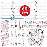 ZITFRI 60 pcs Anniversaire Licorne Cadeau Fille - Tatouages Licorne...