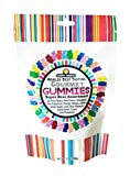 Happy Yummies Super Assortment Worlds Best Tasting Gummies 7oz (Gourmet 12 Flavors Gummy Bears)