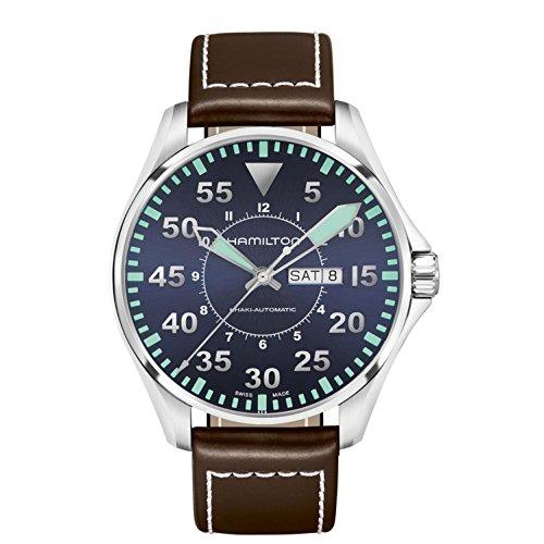 Hamilton Khaki Aviation Pilot Auto Armbanduhr h64715545