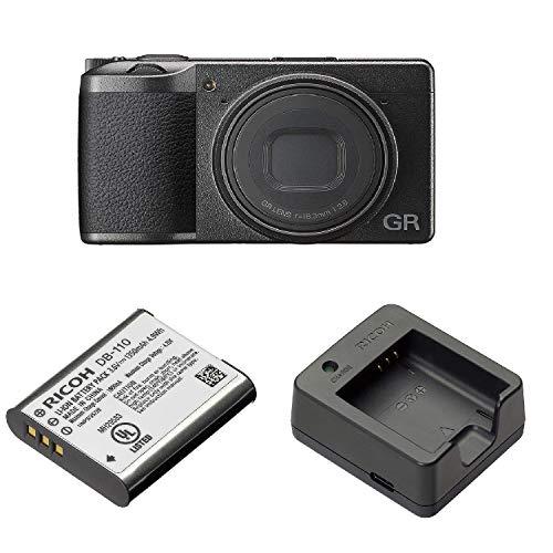 RICOH デジタルカメラ GRIII GRIII APS-CサイズCMOSセンサー リコー GR3 15041+RICOH 充電式リチウムイオンバッテリー DB-110 リコー 37835+RICOH バッテリー充電器 BJ-11 リコー 37861