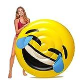 Floatie Kings LOL Emoji Pool Float - Giant Premium Inflatable Raft