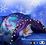Tente de lit enfants pays des merveilles d'hiver