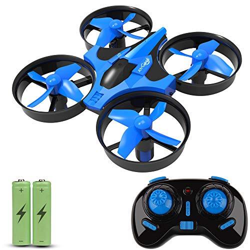 JoyGeek Kids, RC 2.4G 4CH 6Axis modalit Headless, 360 UFO Mini Drone quadricottero, capovolge &...