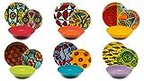 Excelsa Afrika - Vajilla de 18 piezas, porcelana y...