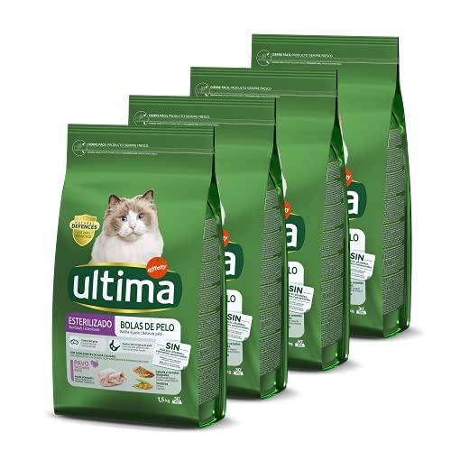 Ultima Pienso Para Gatos Esterilizados Para Prevenir Bolas D