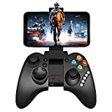 Mobile Game Controller, PowerLead PG9021 Mobile Gaming Wireless Bluetooth Controller Gamepad Supports Android 3.2 Above System/PC