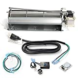Hongso GFK4 Replacement Fireplace Blower Fan KIT for Heatilator, Majestic, Vermont Castings, Monessen, CFM, Northern Flame, Rotom HB-RB74K