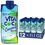 Vita Coco Coconut Water, Pure Organic | Refreshing Coconut Taste | Natural Electrolytes | Vital Nutrients | 11.1 Oz (Pack Of 12) (Grocery)