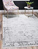 Unique Loom Sofia Traditional Area Rug, 9' 0 x 12' 0, Gray