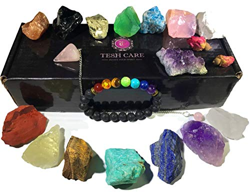 Tesh Care Chakra Therapy Starter Collection 17 pcs Healing...