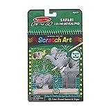 Melissa & Doug Safari Color-Reveal Scratch Art Pad