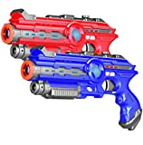 Infrared Laser Tag Set of 2 - Adults & Kids Laser Tag Gun for Indoor Outdoor Battle Game - Infrared 0.9mW