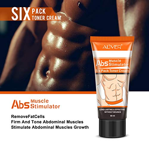 2 Pack Fat Burning Slimming Cream, Hot Cream for Men and Women, Powerful Abdominal Muscle Cream, Slim Cream, Fat Burner, Tighten Muscles for Abdominal, Arms and Thighs. 4