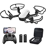 Potensic Elfin Foldable Drone with 2K Camera for Adults, 20min 2 Battery FPV Quadcopter with Gravity...