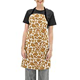 GONGHE Women's Fried Chicken Apron Kitchen Cooking and Apron for Cooking Grill Baking