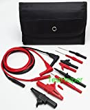 TestHelper TH-6-KIT Automotive Test Lead Kit, Test Probes,Flexible Silicon Back Probe pins,Shielded Alligator Clips and Large Crocodile Clips,Multimeter Meter