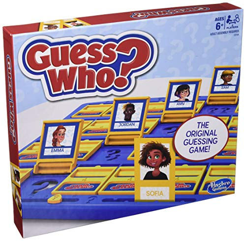 Hasbro Gaming Guess Who? Game Original Guessing Game for Kids Ages 6 and Up...