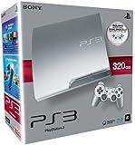 Console PS3 320 Go argent + 2 Manettes PS3 Dual Shock 3 - argent