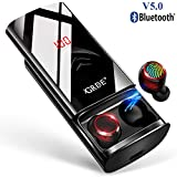 Wireless Earbuds Bluetooth 5.0 Headphones 210H Playtime with 6000mAh Charging Case as Power Bank, Hi-Fi Sound TWS Bluetooth Earbuds in-Ear Headphones IPX5 Waterproof with Mic