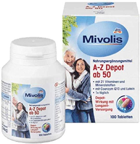 DAS gesunde PLUS A-Z Komplett ab 50. 100 St Tabletten. Nahrungsergänzungsmittel