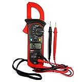 UNI-T UT201 Pinza Multímetro Amperimetrica Digital Profesional Clamp Meter AC DC para Medida...