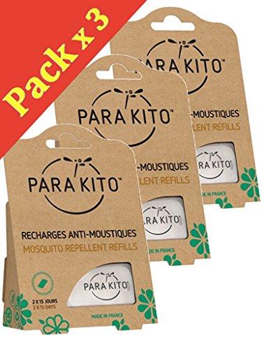 Parakito - PROTECTION ANTIMOUSTIQUE NATURELLE - Recharges Para'kito Pour...