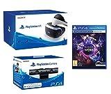 Contient: Un casque PlayStation VR Une Camera pour PS4 Un jeu VR Worlds sur PS4