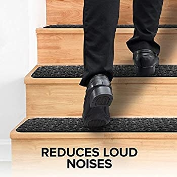Explore Anti Slip Mats For Stairs Amazon Com | Outdoor Rubber Stair Treads Lowes | Anti Slip Stair | Tread Covers | Flooring | Indoor Outdoor | Blue Hawk