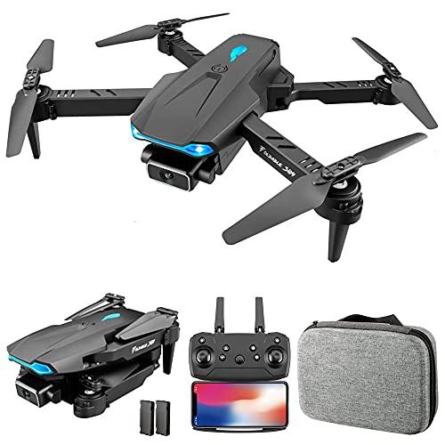 Montloxs S89 RC Drone con Fotocamera 4K WiFi FPV Drone Mini Quadricottero Pieghevole Giocattolo per Bambini con Controllo del sensore di gravit modalit Senza Testa Gesto Foto Funzione Video