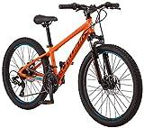 Schwinn High Timber Mountain Bike, ALX, 24-Inch Wheels, Orange