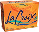 LaCroix Sparkling Water, Orange, 12...