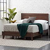 Everlane Home, Mahogany Weston Wood Bed Platform, Queen,