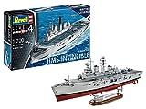 Revell Bateau de Guerre des Folkland HMS Invincible-échelle 1/700-niveau...