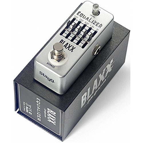 BLAXX 5-Band Equalizer Pedal for Guitar
