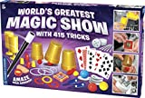 Thames & Kosmos World's Greatest Magic Show with 415 Tricks Magic Set | 60 Page Illustrated Instructions | Fun for Kids Ages 8+