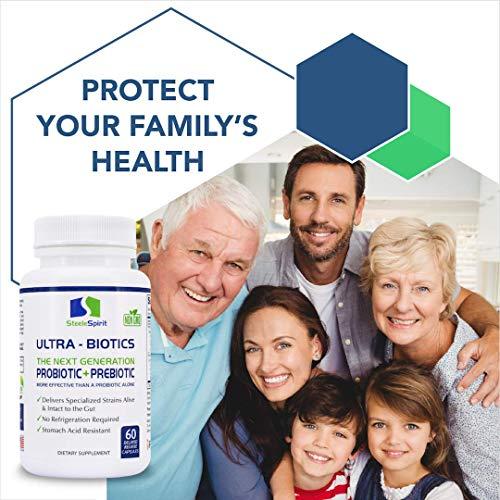 Probiotic Plus Best Prebiotic for Women Men Teens for Ultimate Deep Immune Gut and Digestive Health 9