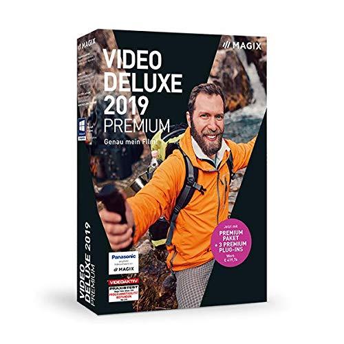 MAGIX Video deluxe 2019 Premium – Für anspruchsvolle Videoproduktionen. Standard 1 Device 1 Year PC Disc Disc