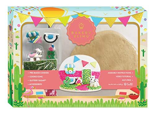 RV Llama Sugar Cookie Decorating Kit by Bakery Bling