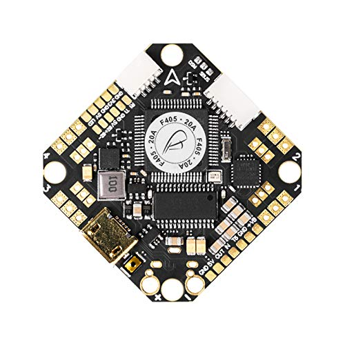 BETAFPV F405 2-4S AIO 20A V4 Toothpick Brushless Flight Controller No RX BLHeli_32 20A ESC for Beta95X V3 Whoop Drone 2-4S Motor