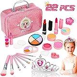 Jojoin Maquillage Enfant Jouet Fille, 22PCS Coffrets De Maquillage avec Couronne...