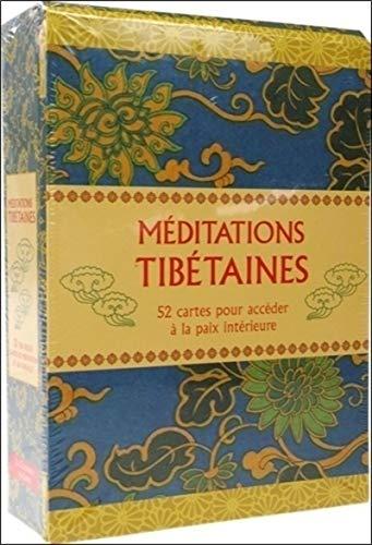 Cartes de méditations tibétaines