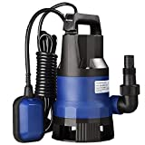 Yescom 1/2 HP 2113GPH 400W Submersible Dirty Clean Water Pump Swimming Pool Sump Pump Pond Flood Drain Foundain Sub Pump