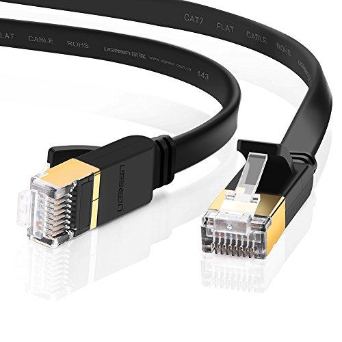 UGREEN LANケーブル カテゴリー7 RJ45 コネクタ ギガビット10Gbps/600MHz CAT7準拠 イーサネットケーブル S...