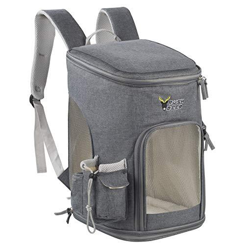 RushDeer Cat Backpack Carrier, Pet Carrier Bag...