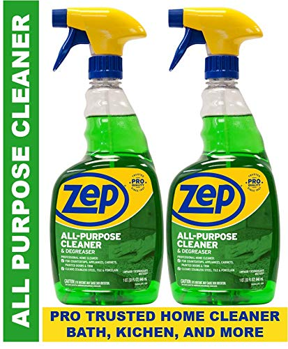Zep All-Purpose Cleaner and Degreaser 32 Ounce ZUALL32 (Pack of 2)...