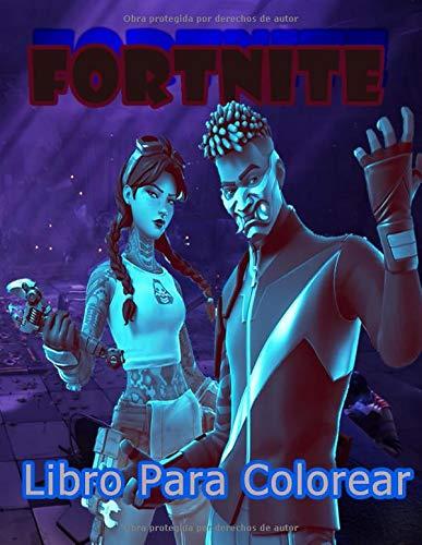 Fortnite Libro Para Colorear: Fortnite Coloring Book para niños y adultos, incluye +50 imágenes lindas y simples de alta calidad de Fortnite