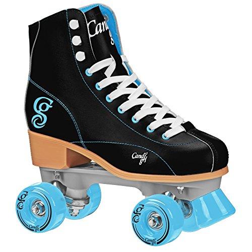 Roller Derby U772 Candi Grl Wo para Mujer Roller Skate, tamaño 7, color Negro/Teal