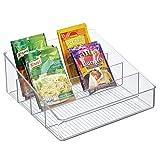 mDesign rangement de cuisine spacieux – boite de rangement pour...