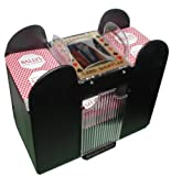 Playing Card Shuffler, Automatic Battery Operated 6 Deck Casino Dealer...