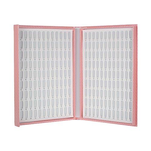 Anself Professionali 216/120 Colori chiodo del gel bianco Display Polish Grafico con punte del...